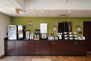 Jacksonville NC Sleep Inn and Suites - Enjoy coffee, yogurts, cereals at our free breakfast