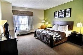 King Size Bedroom at Sleep Inn Jacksonville, NC