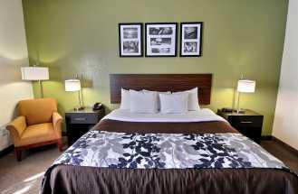 Jacksonville NC Sleep Inn and Suites - King Standard Room at Jacksonville Sleep Inn & Suites
