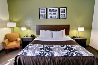 King Bed Handicap Accessible at Sleep Inn Jacksonville
