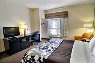 Jacksonville NC Sleep Inn and Suites - King Standard Room at Jacksonville Sleep Inn and Suites