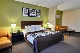 King Suite at Sleep Inn Jacksonville
