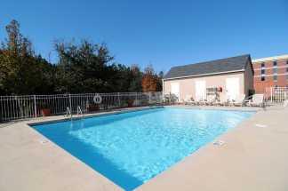 Jacksonville NC Sleep Inn and Suites - Lounge by our Seasonal Pool at The Sleep Inn Jacksonville